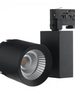 LED 3-Phasen Stromschienenstrahler